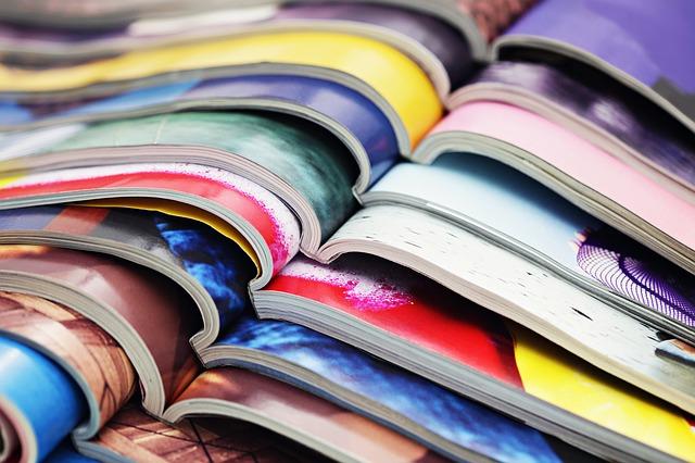 錦鯉の雑誌